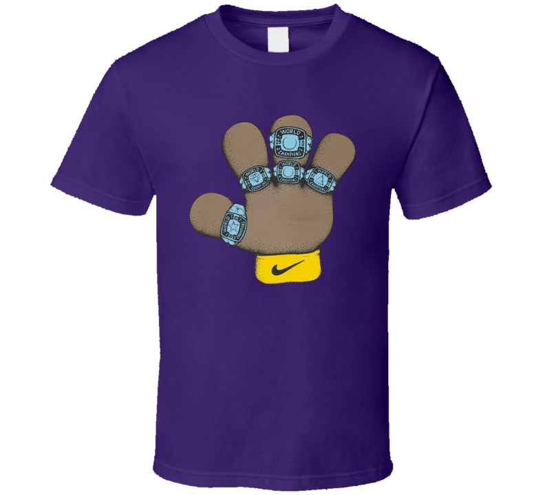 Kobe Puppet Hand 5th Ring T Shirt
