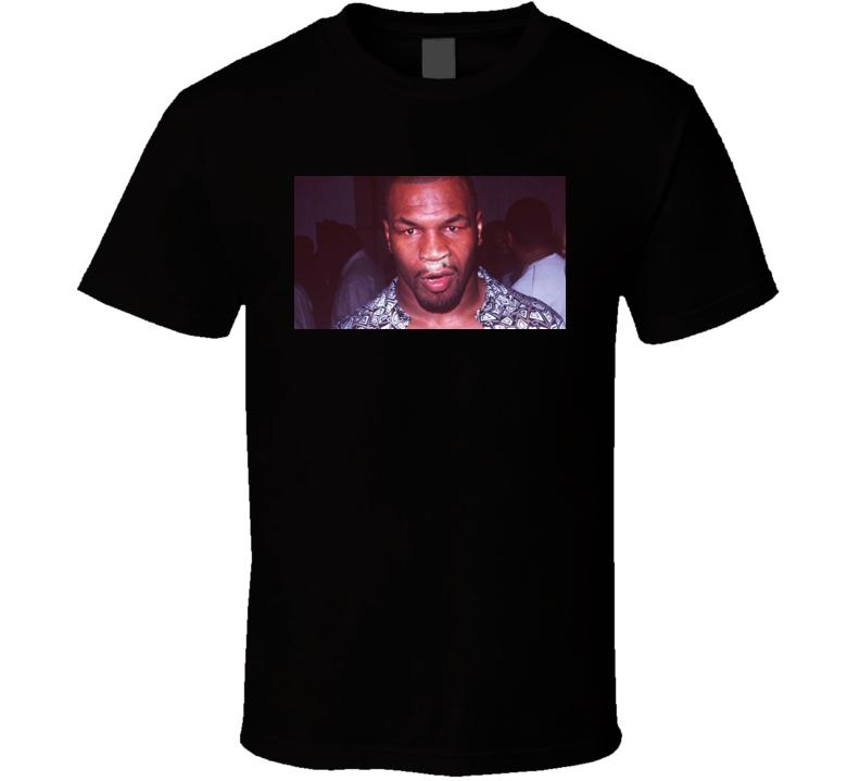 Mike Tyson Cocaine Nose T Shirt