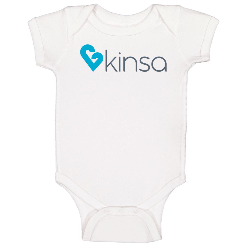 Kinsa Health Technology Company Logo Baby One Piece