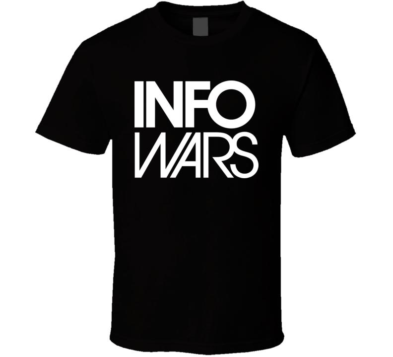 Info Wars Alex Jones Logo T Shirt