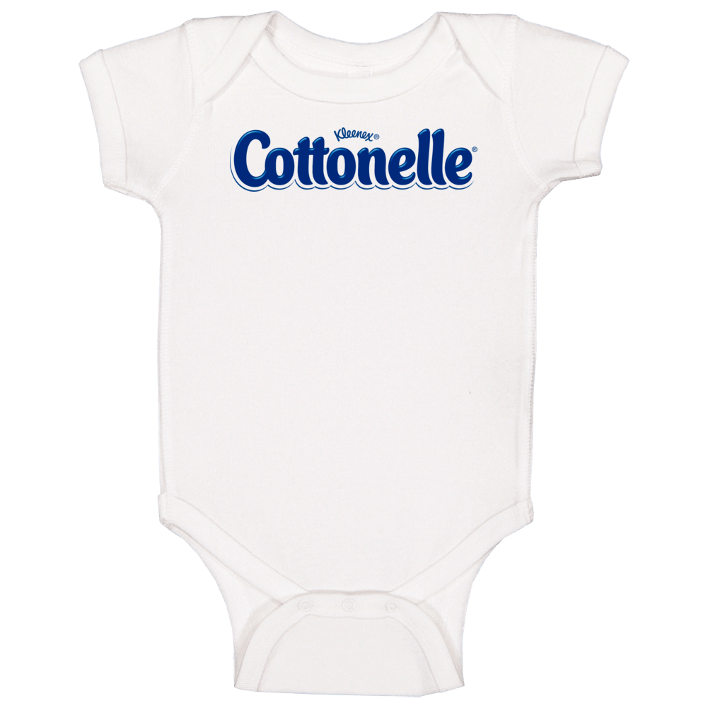 Cottonelle By Kleenex Toilet Paper Company Logo Baby One Piece
