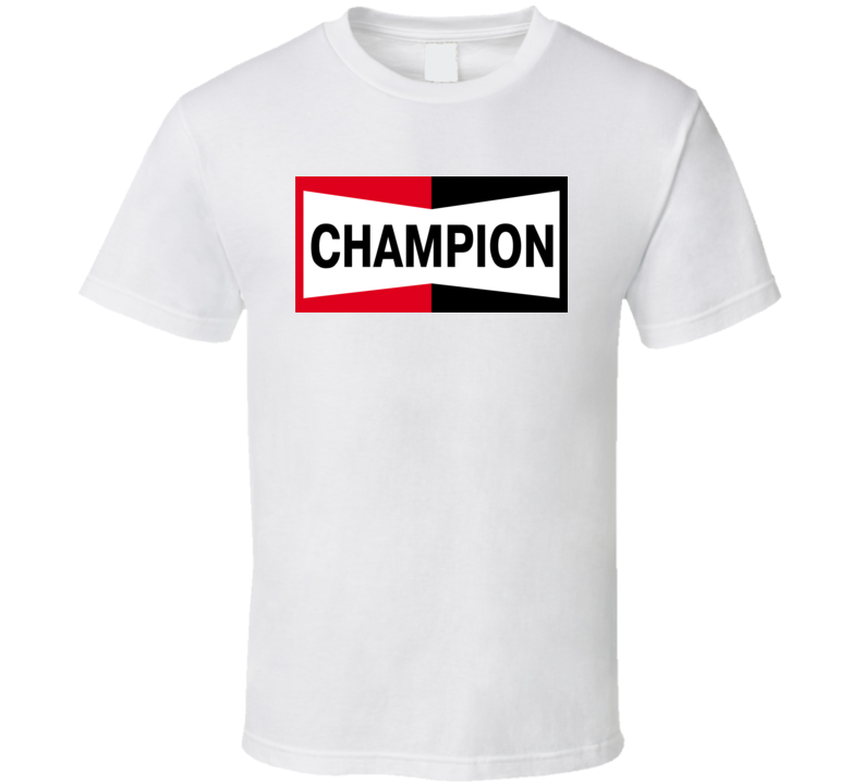 Vintage Champion Logo T Shirt
