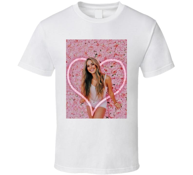Addison Rae Tik Tok Star Flower Love T Shirt