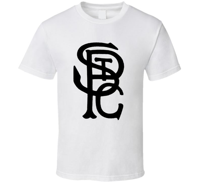 St Paul Coloured Gophers Negro Baseball League Team Retro Cool T Shirt