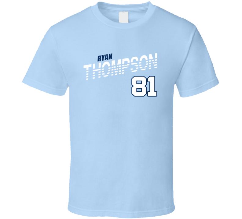 Ryan Thompson 81 Favorite Player Tampa Bay Baseball Fan T Shirt