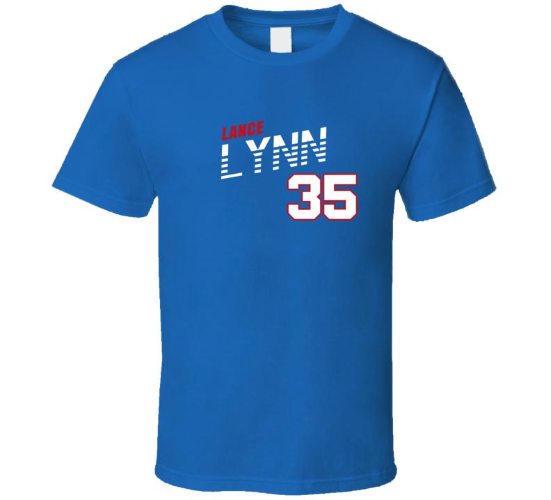 Lance Lynn 35 Favorite Player Texas Baseball Fan T Shirt