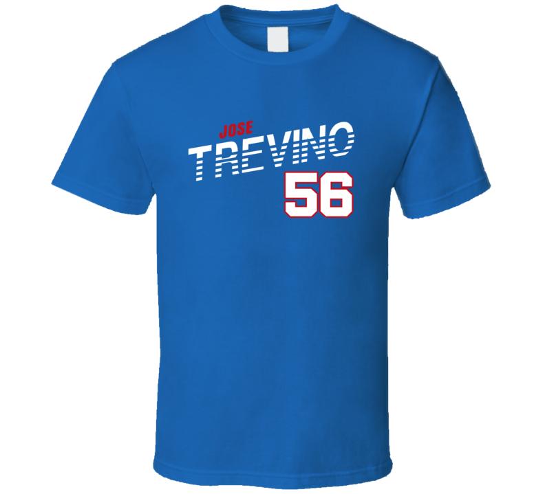 Jose Trevino 56 Favorite Player Texas Baseball Fan T Shirt