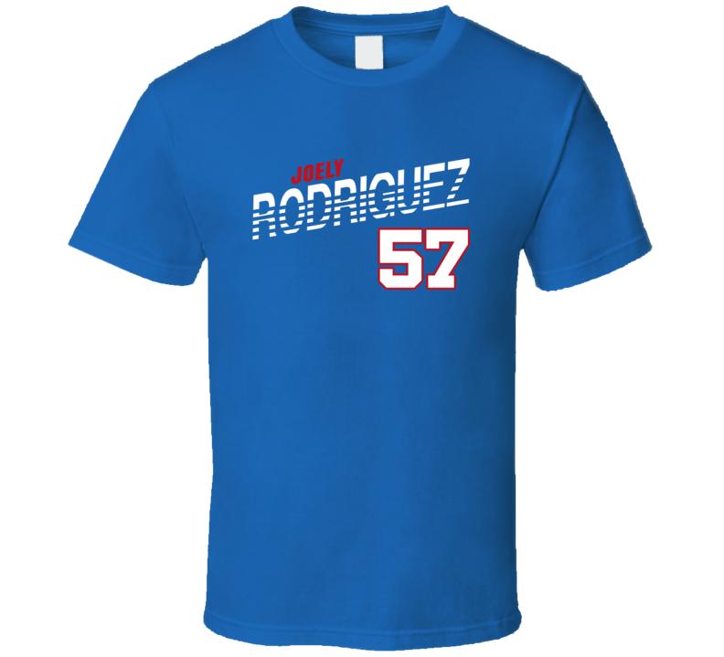 Joely Rodriguez 57 Favorite Player Texas Baseball Fan T Shirt