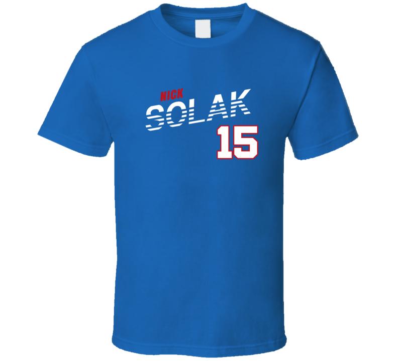 Nick Solak 15 Favorite Player Texas Baseball Fan T Shirt