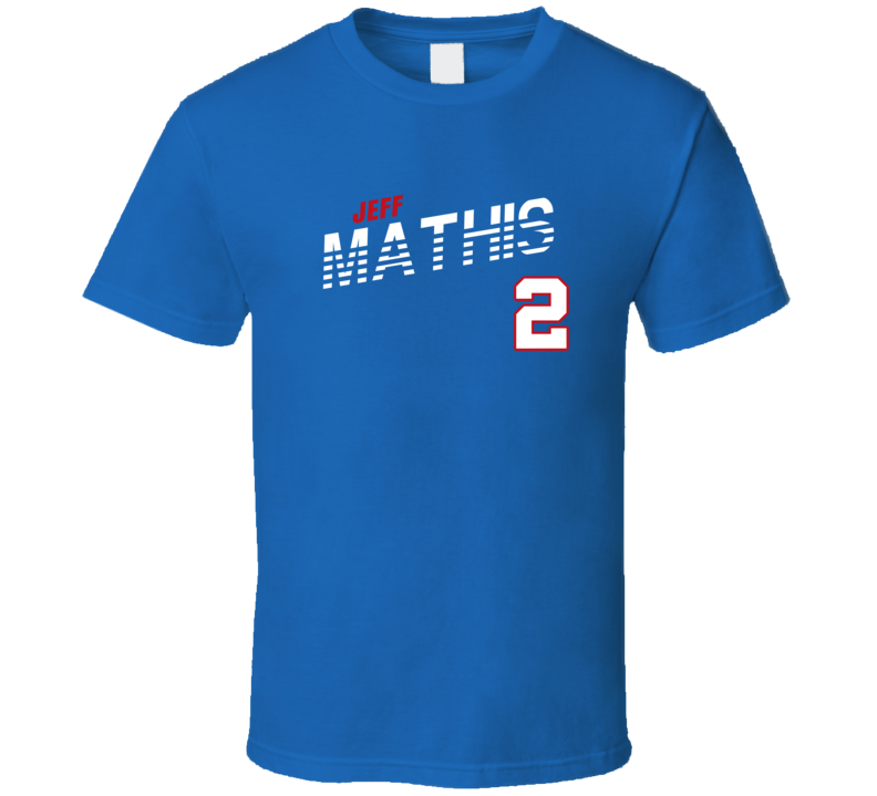 Jeff Mathis 2 Favorite Player Texas Baseball Fan T Shirt