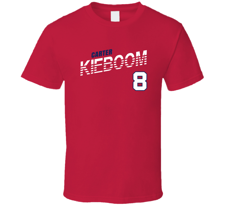 Carter Kieboom 8 Favorite Player Washington Baseball Fan T Shirt