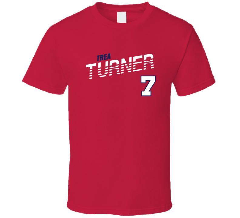 Trea Turner 7 Favorite Player Washington Baseball Fan T Shirt
