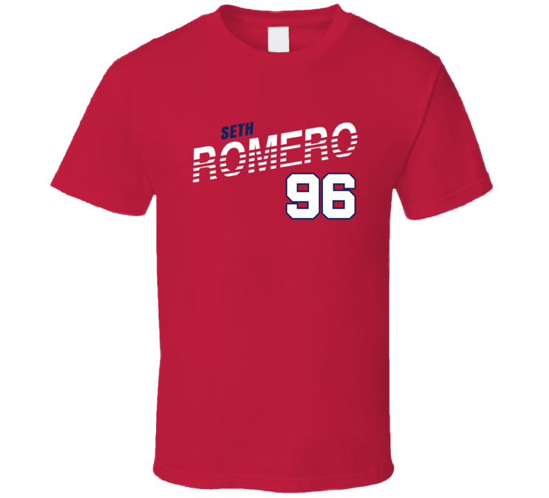 Seth Romero 96 Favorite Player Washington Baseball Fan T Shirt