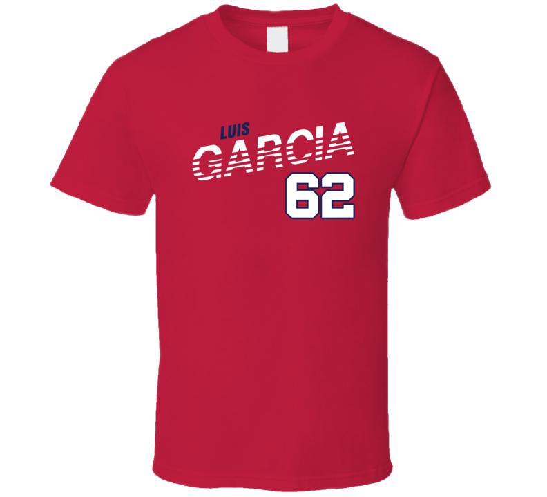 Luis Garcia 62 Favorite Player Washington Baseball Fan T Shirt