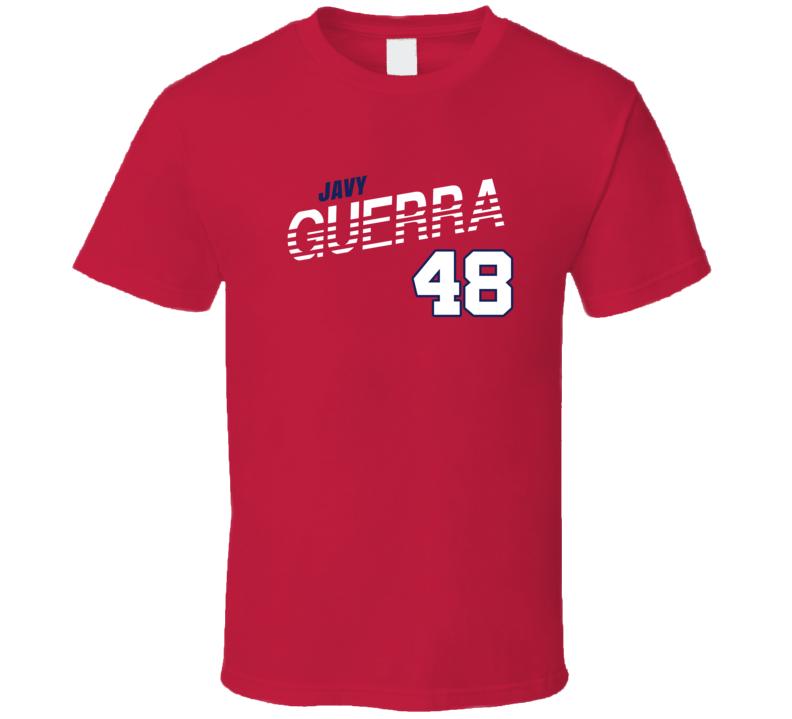 Javy Guerra 48 Favorite Player Washington Baseball Fan T Shirt