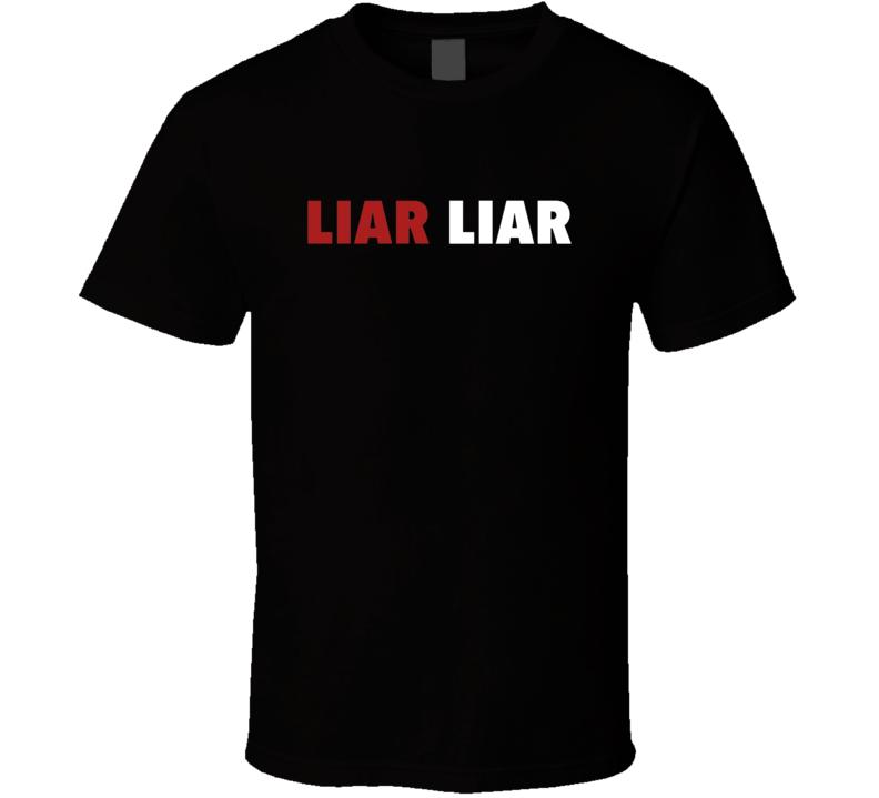 Liar Liar Movie Title T Shirt