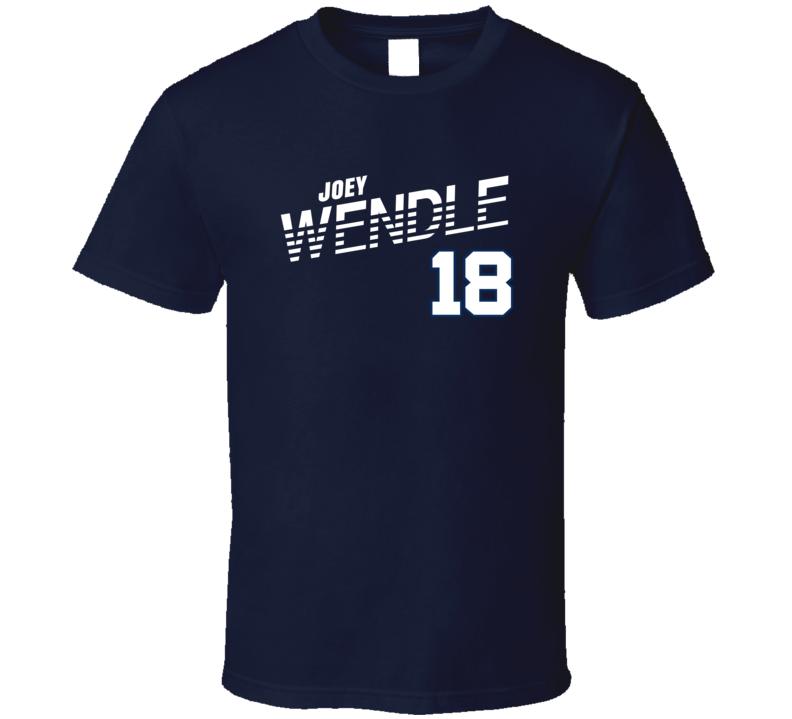 Joey Wendle 18 Favorite Player Tampa Bay Baseball Cool T Shirt