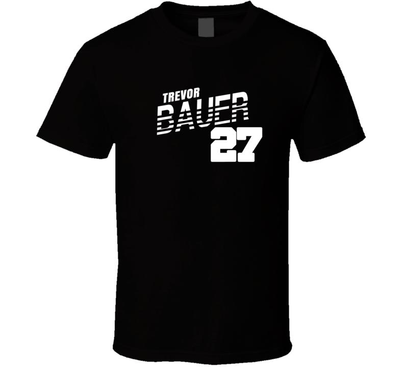 Trevor Bauer 27 Favorite Player Cincinnati Baseball Cool T Shirt