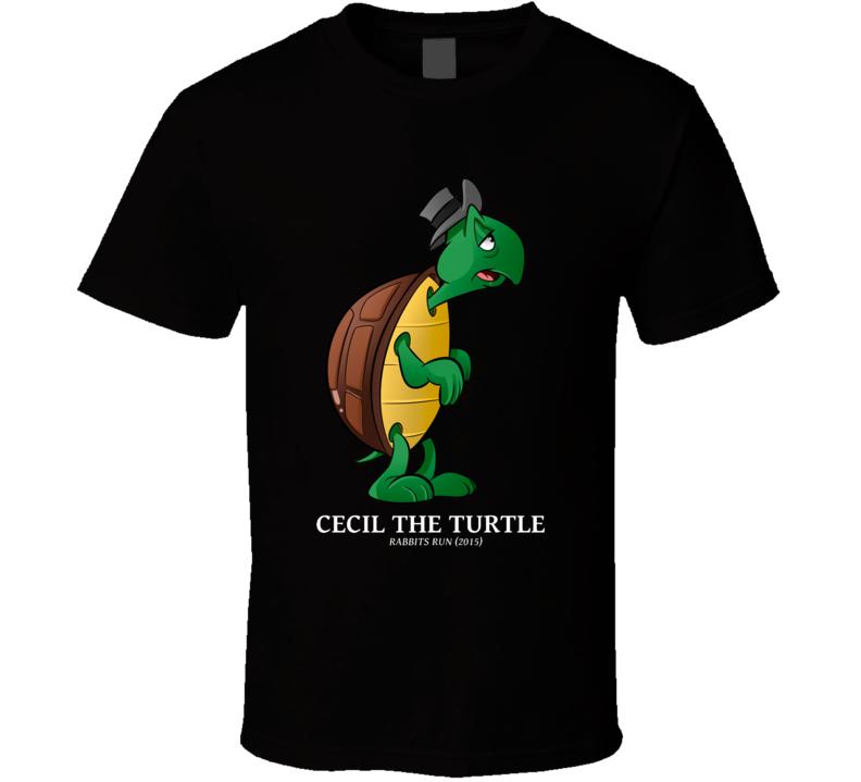 Cecil The Turtle Rabbits Run Cartoon T Shirt