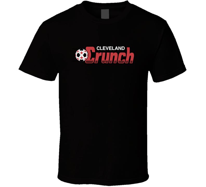 Cleveland Crunch Major League Indoor Soccer Club T Shirt