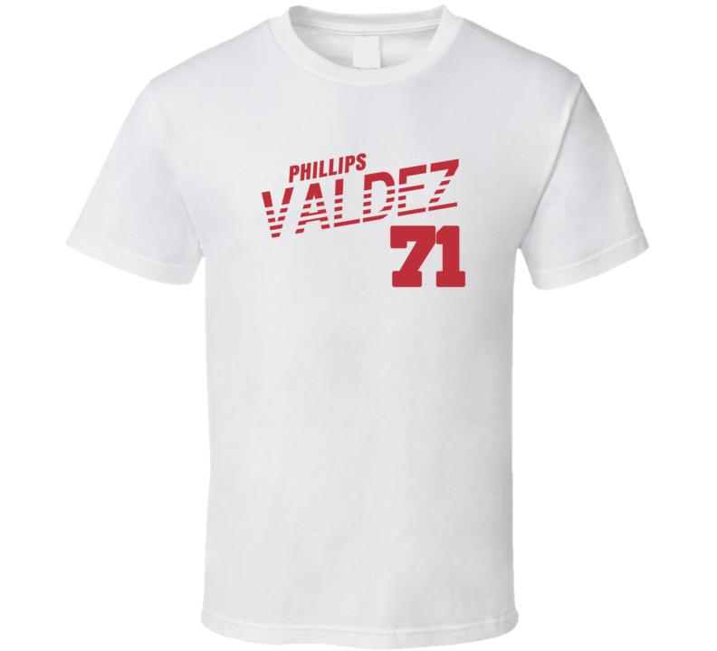 Phillips Valdez 71 Favorite Player Boston Baseball T Shirt