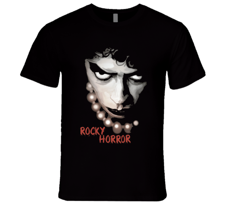 Rocky Horror Picture Show movie t-shirt Tim Curry retro cult classic movie shirts
