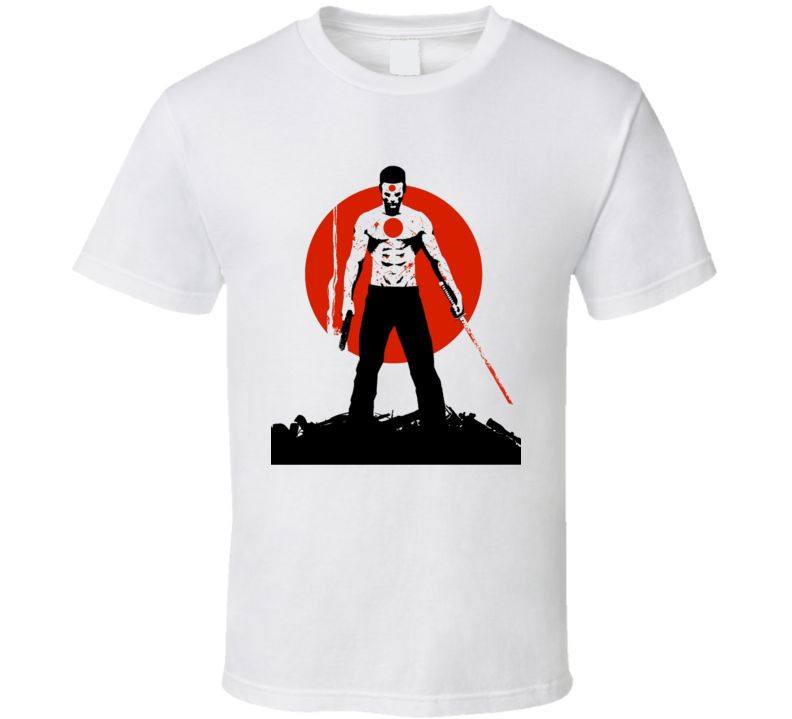 Rai Comic book t-shirt Valiant comics spirit guardian Japan