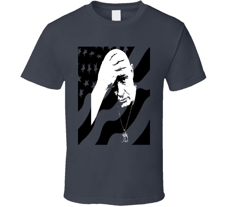 Colonel Kurtz T-Shirt Apocalypse Now Kurtz USA flag Brando Vietnam movie