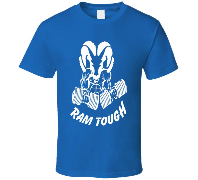Ram Tough T-shirt Ram Trucks Ram with Weights COOL Mopar Chrysler Dodge