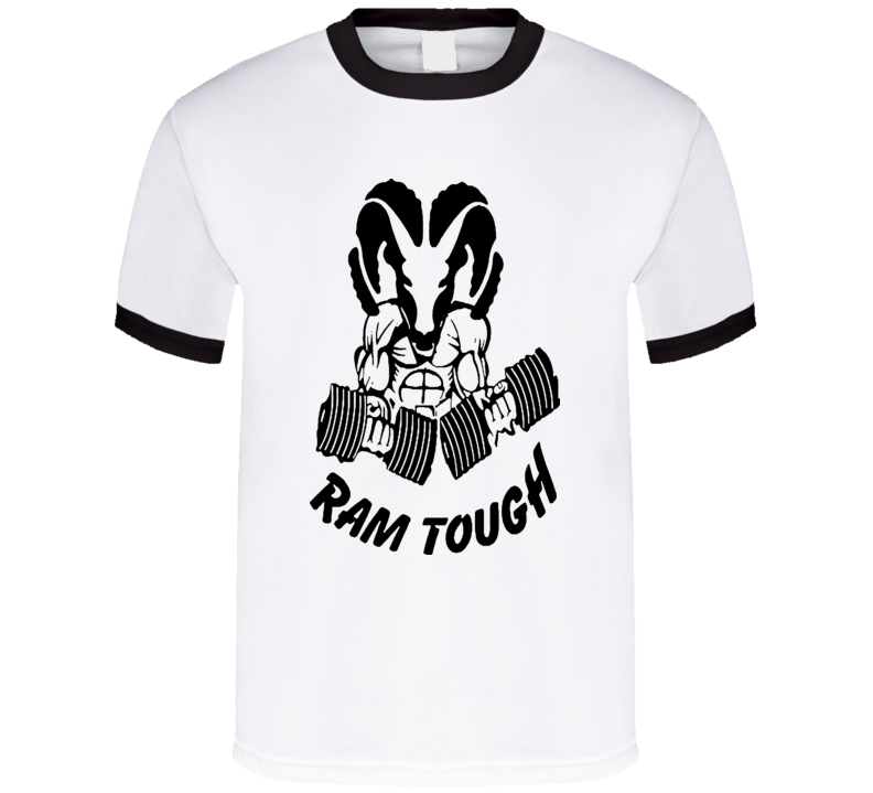 Ram Tough T-shirt Ram Trucks Ram with Weights COOL Mopar  Dodge Chrysler