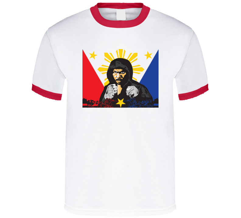 Manny Pacquiao Boxing T Shirt