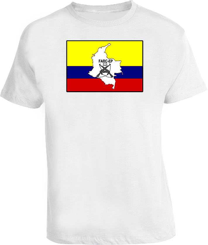 FARC Communist Party flag T Shirt