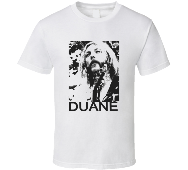 Duane Allman Keith Urban Idol T Shirt