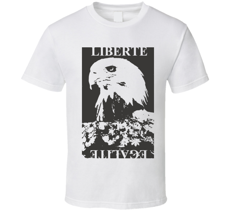 Keith Urban Eagle Liberte Egalite White T Shirt