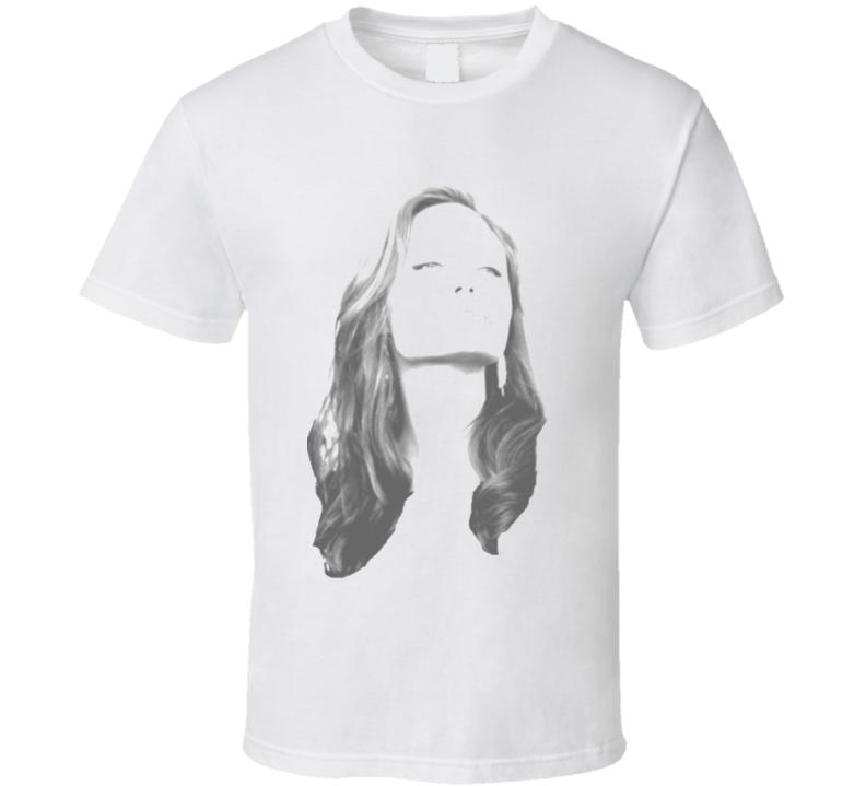 Angelina Jolie White T Shirt