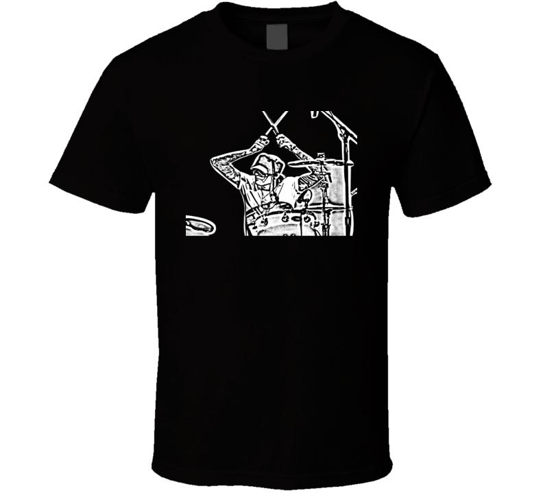 Tommy Lee Motley Crue Drummer Black T Shirt