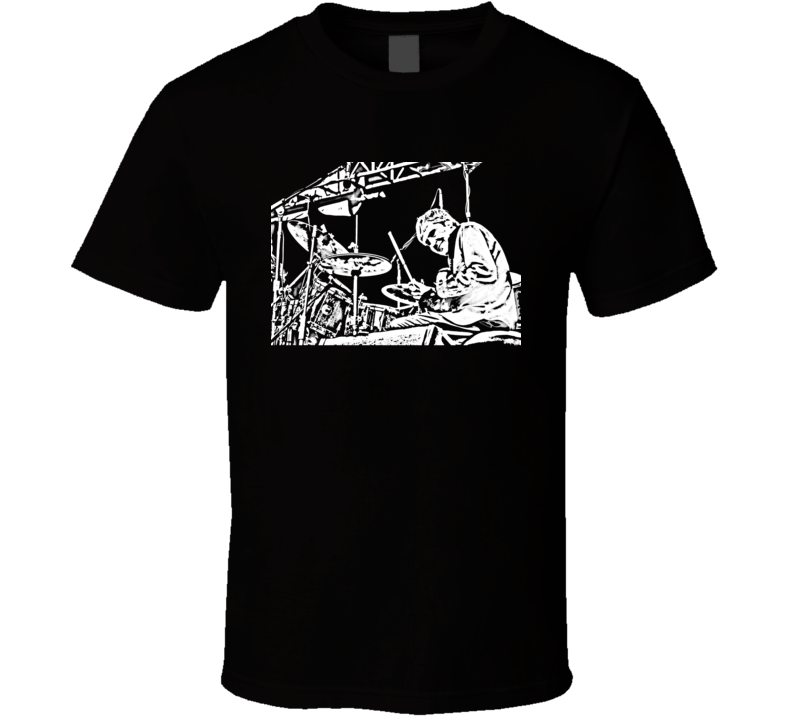 Don Henley The Eagles Drummer Black T Shirt