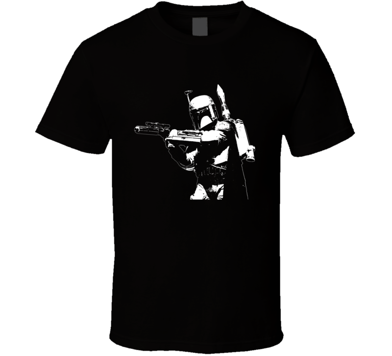 Boba Fett Star Wars Black T Shirt