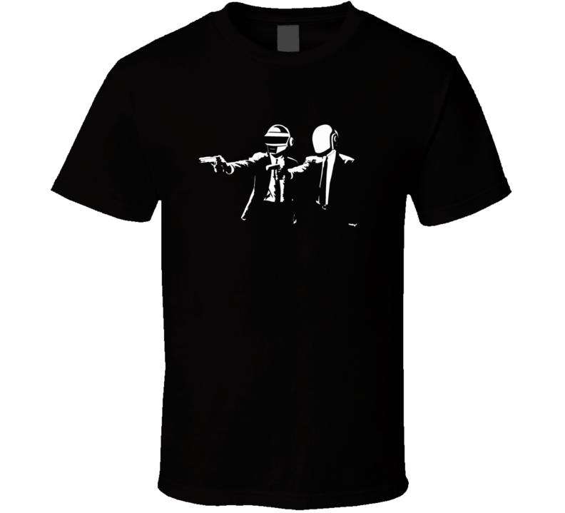 Daft Punk Pulp Fiction T Shirt