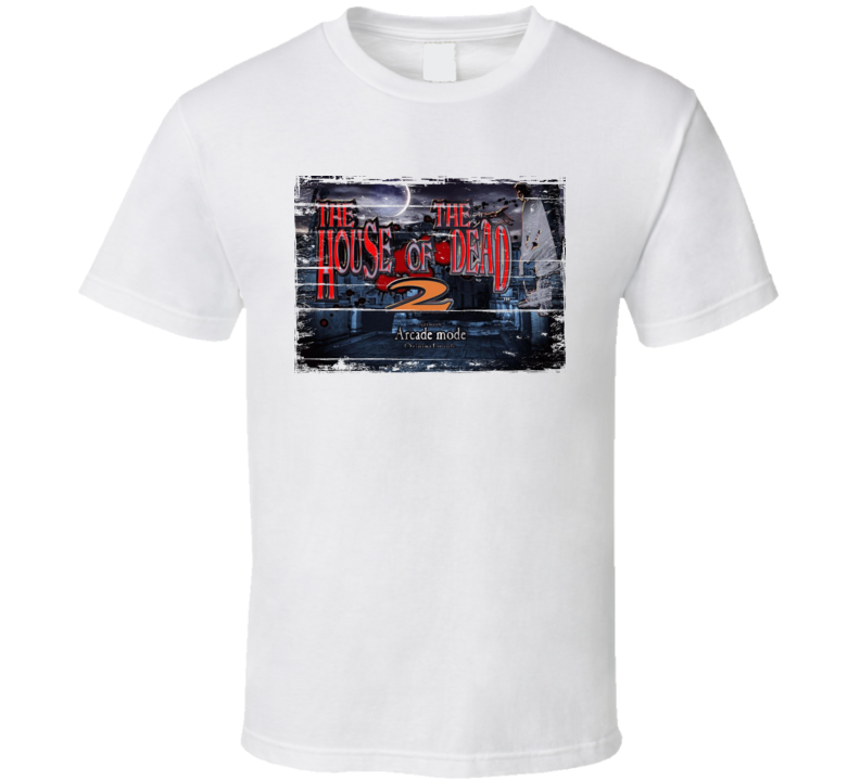 House of the Dead Retro Arcade Game Screenshot T Shirt