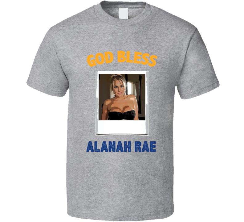 Alanah Rae God Bless T Shirt