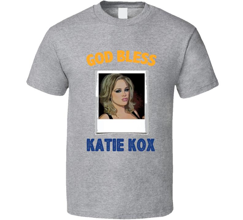 Katie Kox God Bless T Shirt