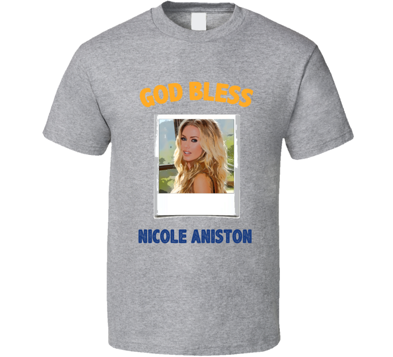 Nicole Aniston God Bless T Shirt