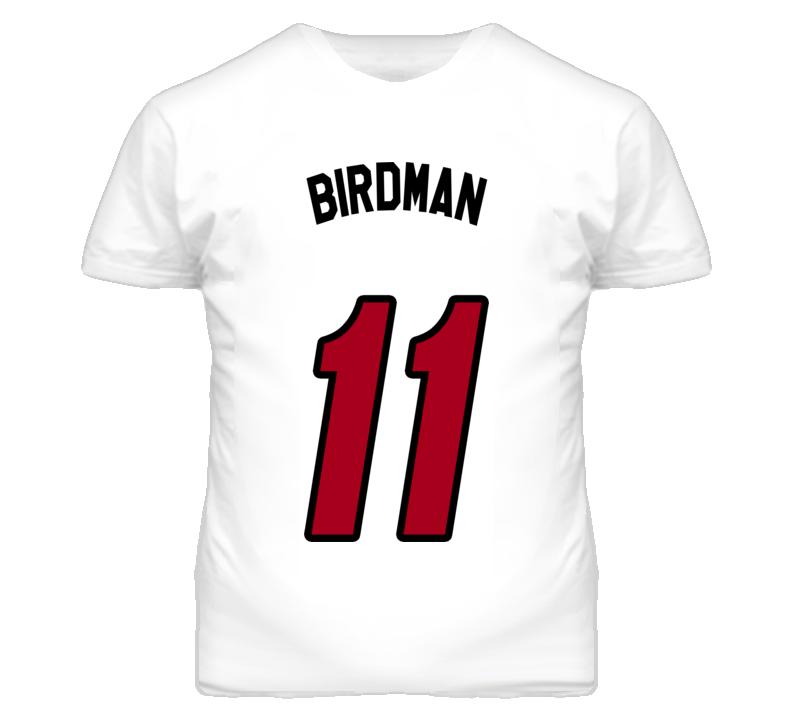 Birdman Chris Andersen Miami Basketball Nickname T Shirt