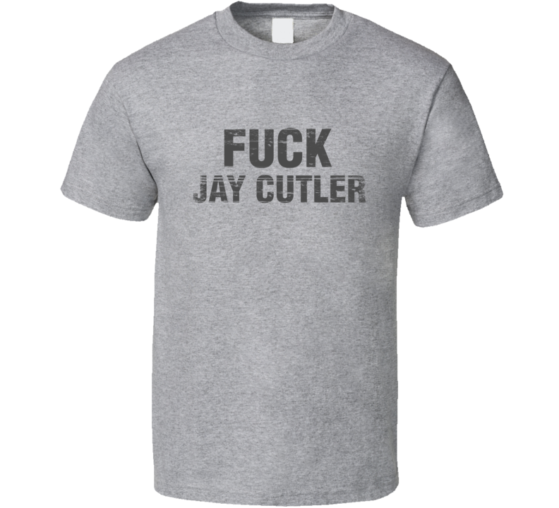 Carl Gallagher Shameless F&ck Jay Cutler Chicago Football T Shirt