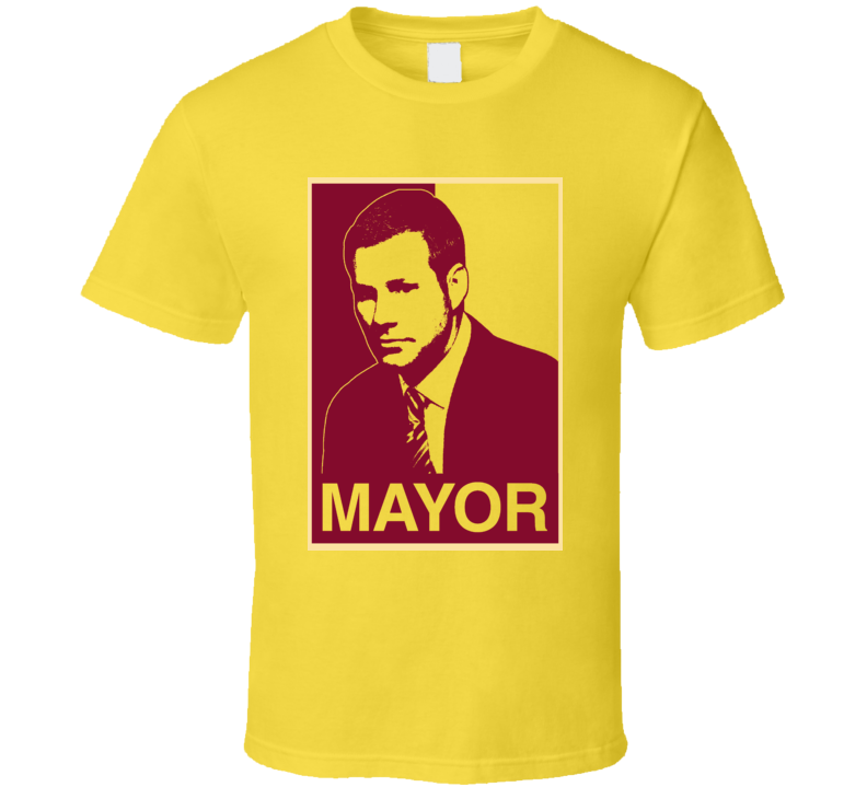 Fred Hoiberg Mayor Hope Style Iowa State Basketball T Shirt