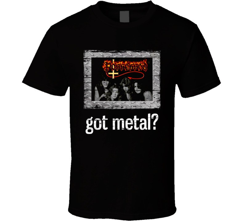 Possessed Got Metal Distressed Image T Shirt