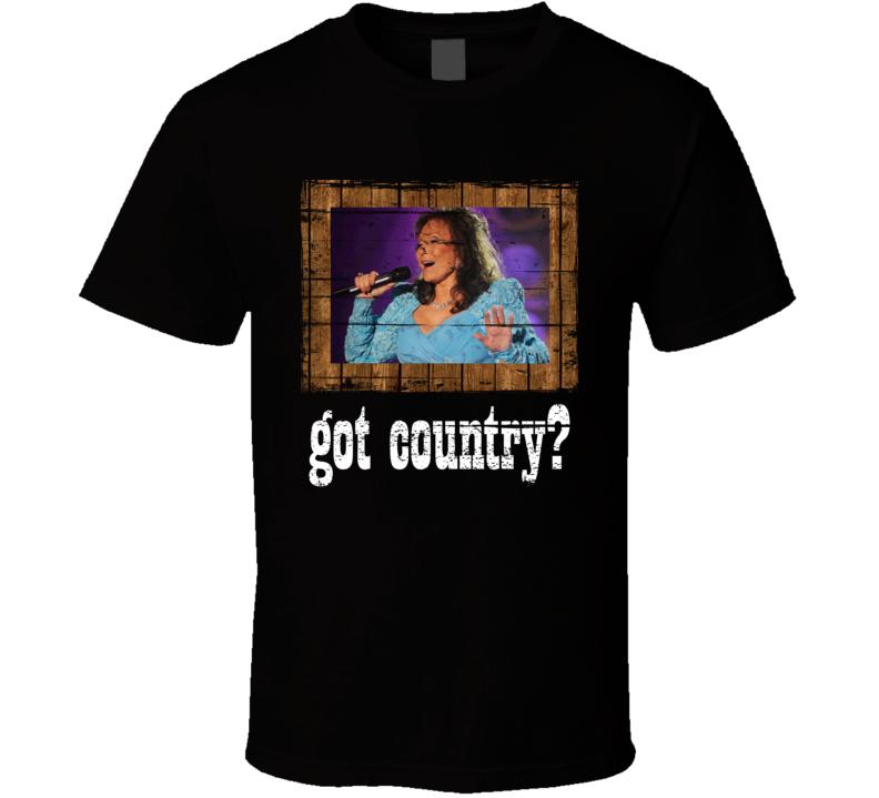 Loretta Lynn Got Country Distressed Image T Shirt