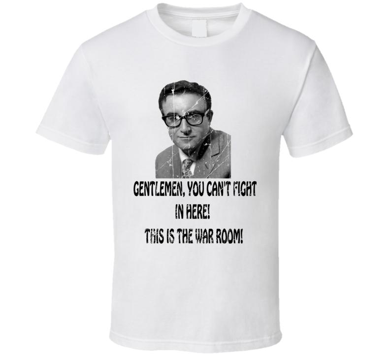 President Merkin Muffley Distressed Quote T Shirt