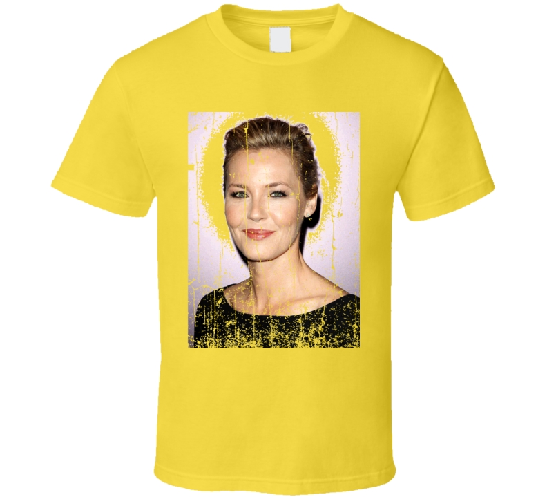 Connie Nielsen Lily Gray The Following TV Show Character Worn T Shirt